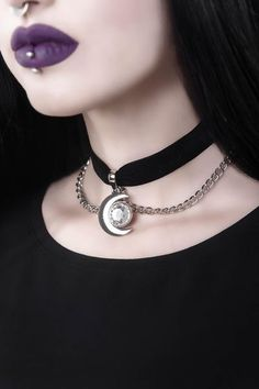 Clothing & Lifestyle company with a twist of darkness, channeling emotional power and raw energy into every thread. Emo Jewelry, Fashion Jewelry, Jewellery, Gothic Fashion, Jewelry Ideas, Jewelry Box, Gothic Chokers, Women's Chokers, Choker Necklaces
