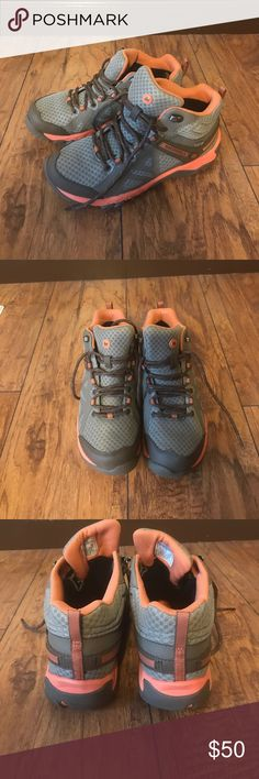 Merrell hiking shoes water proof brand new New never used in the original box, I don't think I'll ever use them Merrell Shoes Winter & Rain Boots