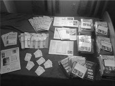 Handbuch Widerstand - gegen Hartz IV: FOTOS von den Vorbereitungen
