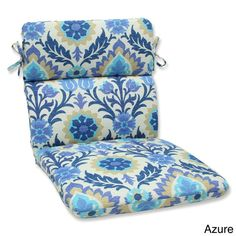 Pillow Perfect 'Santa Maria' Outdoor Rounded Corners Chair Cushion