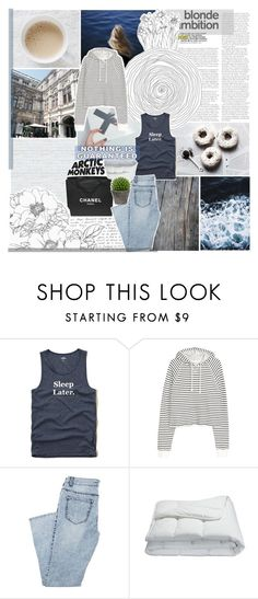 """""""SOMEBODY STEPPED INSIDE YOUR SOUL"""" by vanilla-chai-tea ❤ liked on Polyvore featuring Hollister Co., Chanel, Frette and Broste Copenhagen"""