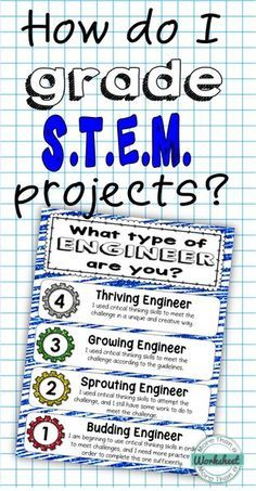Grading STEM Projects Pin