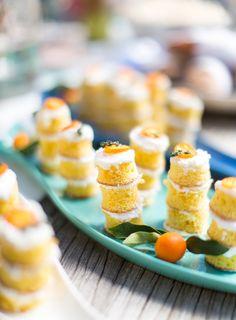 Mini Citrus Cakes