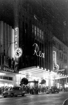 """1955 ~ """"Rex"""" theatre, Panepistimiou Ave."""