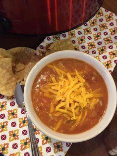 Easy slow cooker soup Burrito Bowl Soup