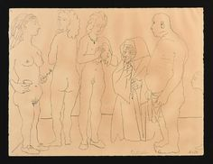 PABLO PICASSO (Spanish/French 1881-1973) A LITHOGRAPH, : Lot 457
