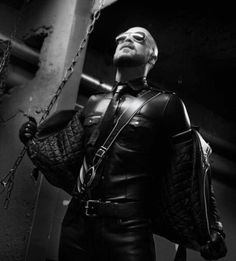 Full Leather Gay Uniform