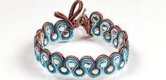 Preciosa Braided Bracelet Project - Soutache meanders