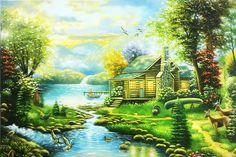 Những bức tranh vẽ thiên nhiên đẹp như thật
