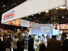 News @TheNAFEMShow! Visit #RATIONAL at booth 2617 and in the WHAT'S HOT! WHAT'S COOL!® product gallery. Its getting real!