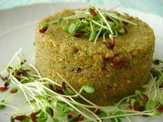 Sformatini di amaranto con noci e uvetta – Vegan blog – Ricette Vegan – Vegane – Cruelty Free