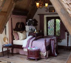 FYI  INSPIRATION: Little Red Riding Hood.. room by JP Sligh Wolf Designer Dog Miniature