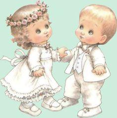Ruth Morehead Collection | enfants en tenue de mariés 107