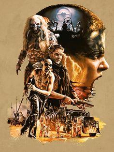 Mad Max: Fury Road artwork by Hugo Dourado