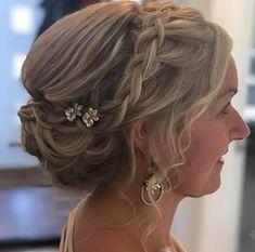 Beautiful bridal hair by Lauren Gosling Hair Bridal Hair Inspiration, Wedding Hairstyles Tutorial, Short Styles, Curls, Bride, Beautiful, Vintage, Fashion, Wedding Bride