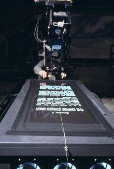 """""""Star Wars episode V : The Empire Strikes Back"""" by Irvin Kershner - Backstage pic"""