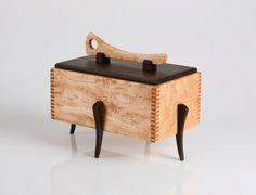 Wooden jewelry box / Keepsake box