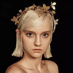 Vintage Tiara Bridal Headpieces Headdress Handmade Head Jewelry Decoration Leaf Flower Hair Piece For Bride