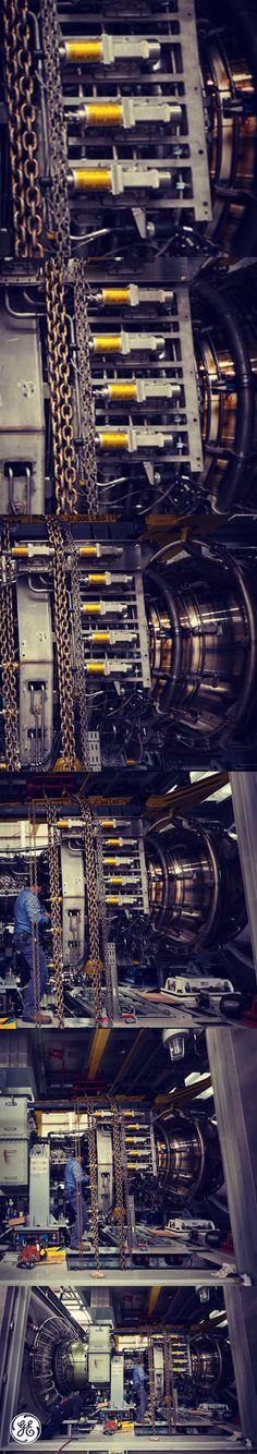 Scroll to #zoom-in and out of this gas #turbine!