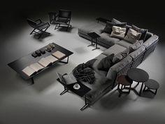 Sofás de diseño - Sofás Flexform Madrid - Sofás modernos