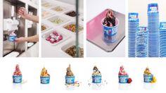 Funky Frozen Yogurt