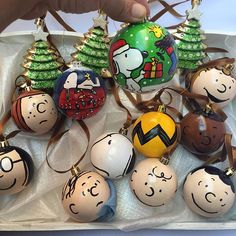 instagram media elketalone turma do snoopy christmas ornaments diy