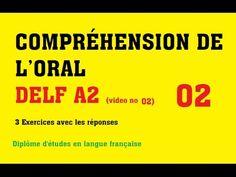 DELF A1 - Compréhension de l'oral (no 5) - YouTube