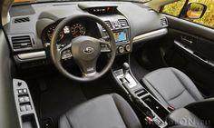 Интерьер гибридного кроссовера Субару XV Кросстрек Туринг 2014 / Subaru XV Crosstrek Hybrid Touring 2014