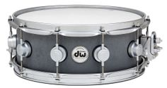 DW Collector's Series Concrete Snare - Raw Soapstone Finish with Satin Chrome Hardware