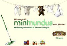 Minimundus, tygblöjor, ullkläder, leksaker