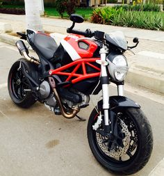Ducati Monster 796 with Rizoma mirrors and SC-Project CRT exhausts