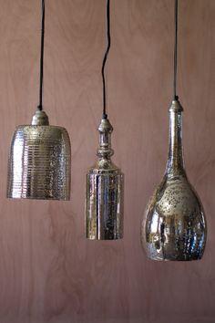 mercury glass pendant lighting. mercury glass bottle pendant lighting. get your lighting at teague\u0027s interiors in longview, wa l