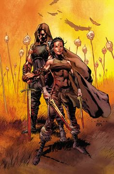 ETERNAL WARRIOR #7 Written by GREG PAK Art by TREVOR HAIRSINE Cover by DIEGO BERNARD Variant Cover by LEWIS LAROSA  In the year 4001…