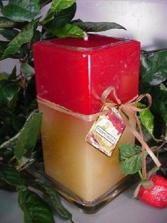 26 oz Sq. Pillar Candle Strawberry Cheesecake Scent Candle by Unique Aromas. $25.43. Strawberry Cheesecake scent. Candle color may vary from photograph. Price per each candle. This candle is sure to bring joy and warmth to all those in the presence of it.Some assembly may be required. Please see product details.Some assembly may be required. Please see product details.