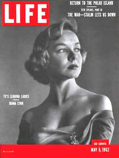 Life Magazine Cover Copyright 1952 Diana Lynn - Mad Men Art: The 1891-1970 Vintage Advertisement Art Collection