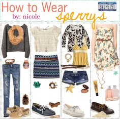 """""""How to Wear; Sperrys. ♥"""" by the-polyvore-tipgirls ❤ liked on Polyvore"""