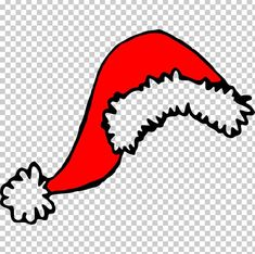 Santa Suits, Free Sign, Santa Hat, White Christmas, Christmas Decorations, Clip Art, Christmas Drawing, Content, Black And White