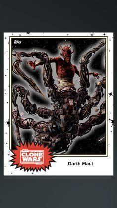 Star Wars the clone wars Darth Maul spider