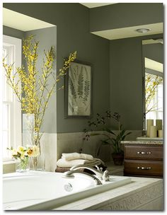 Spa paint colors on pinterest spa facial room watery - Try out exterior paint colors online ...