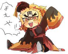 Kimetsu no yaiba Doujinshi + fanart + . Anime Chibi, Anime Art, Feliz Halloween, Dragon Tales, Deadman Wonderland, Gekkan Shoujo, Undertale Cute, Disney And More, Slayer Anime
