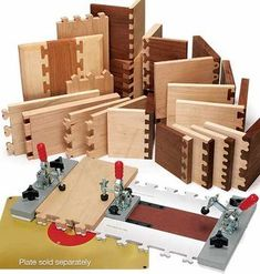 Fast Joint Precision Joinery System Jig and cuts #woodworkingtips