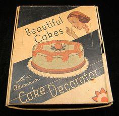 1950's cakes