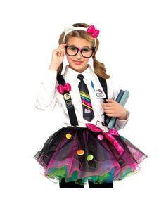 fbd2662f12 Girls Nerd Tutu at Spirit Halloween - This Girls Nerd Tutu shows ... Cute