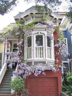 Gah. Sf has wonderfully gorgeous houses! ♡