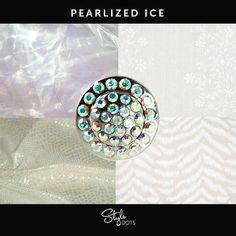 Pearlized Ice Dot from Style Dots! Style with me at https://suzanne.styledotshome.com