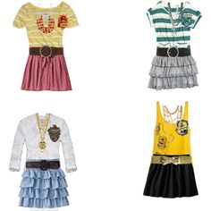 These are so cute! My favorites are the Ravenclaw and Slytherin ones :)