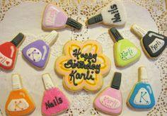 Cookie Cheers: Nail Polish Cookies
