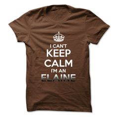 #Sportstshirt... Cool T-shirts  Worth :$19.00Purchase Now  Low cost Codes View pictures & photographs of Keep Calm . Im An ELAINE t-shirts & hoodies:Should you don't completely love our design, you possibly can SEARCH your favourite one through the use of s....