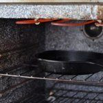 Heat the oven to broil, and put a cast iron skillet in the oven to heat up with the oven.