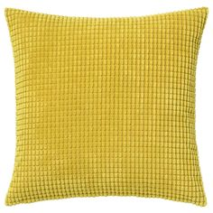 GULLKLOCKA Kuddfodral - gul - IKEA